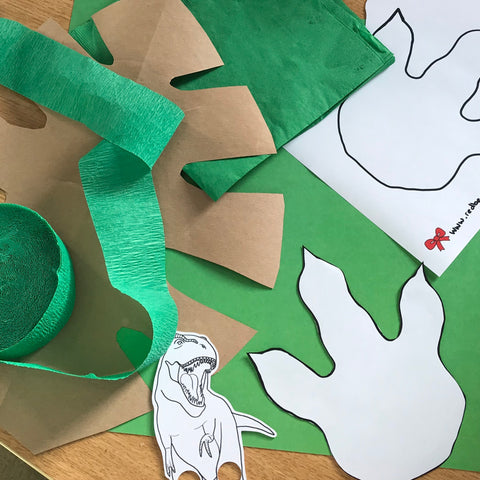 Dinosaur party decorations
