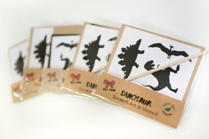 Dinosaur birthday party bag favour
