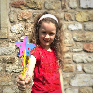 Make a star wand party bag craft