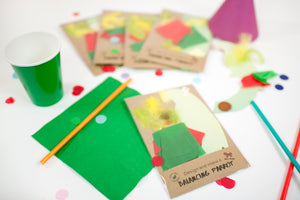 Make a balancing parrot party bag craft
