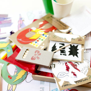 Lots of fun crafts & games to make & play