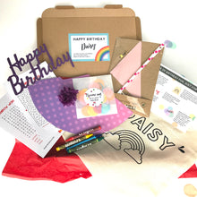 Load image into Gallery viewer, Personalised birthday in a box