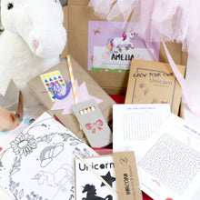 Load image into Gallery viewer, Unicorn craft set with eco friendly materials