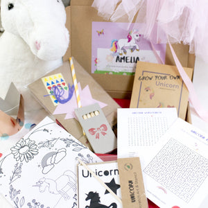 Unicorn craft set with eco friendly materials