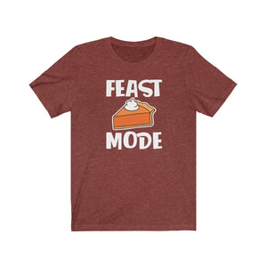 Feast Mode Unisex Jersey Short Sleeve Tee