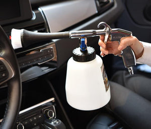 Car interior deep high pressure cleaner
