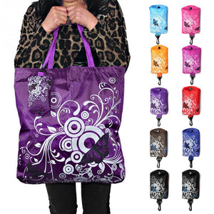 Reusable Shopping Bag Butterfly Design