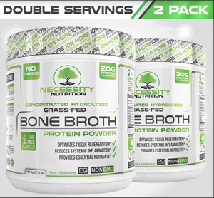 2X Bone Broth Protein Powder
