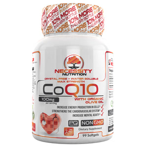 CoQ10 Softgels 100mg