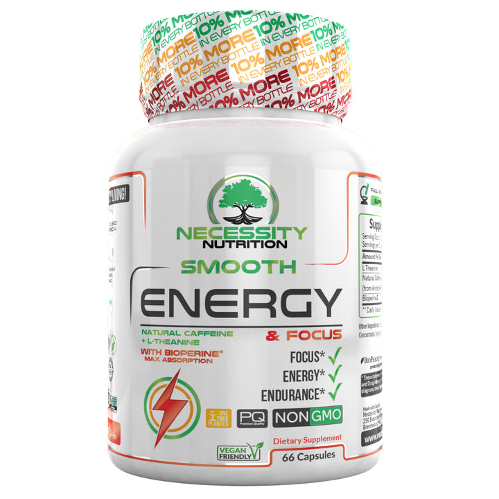 Smooth Energy Boost & Focus