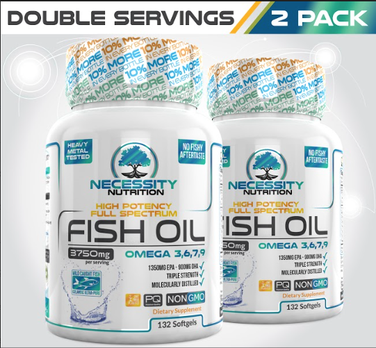2X High Potency Fish Oil Omega 3