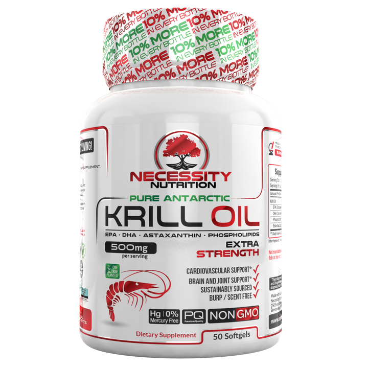 Krill Oil 500mg - 50ct