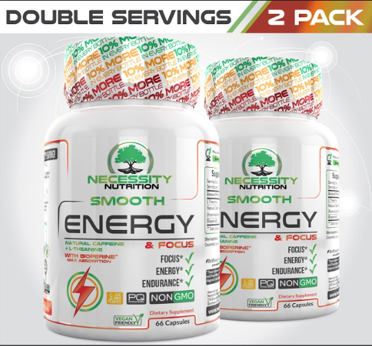 2X Smooth Energy Boost & Focus