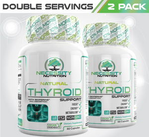 2X Natural Thyroid Support