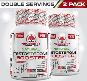 2X Natural Testosterone Booster