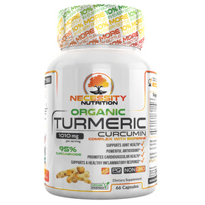 Organic Turmeric With Bioperine® 1000mg - 66ct