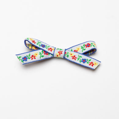 Milly Floral Bow