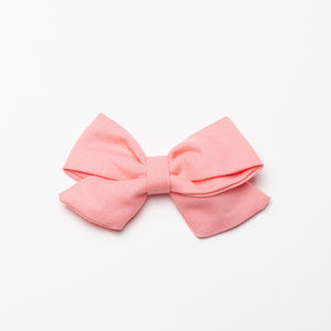Kate Bow in Coral Pink
