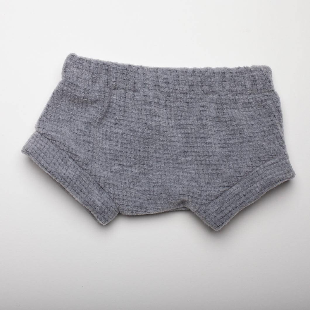 Light Gray Square Shorties