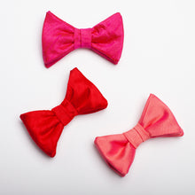 Load image into Gallery viewer, Boys Silk Nubby or Thai Silk Bow Tie