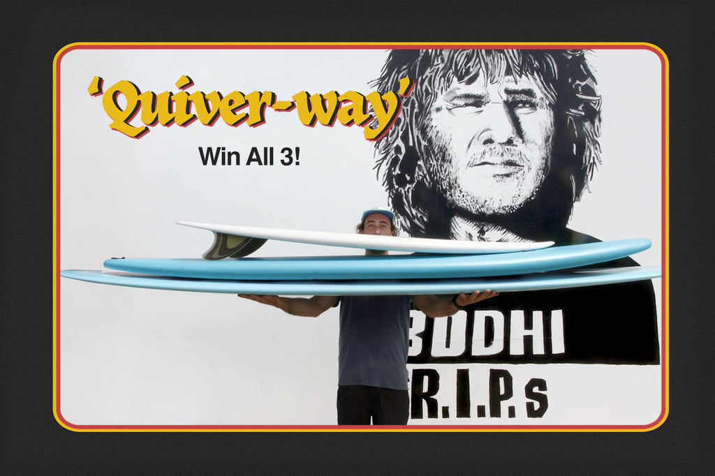 Quiverway ~ Board giveaway