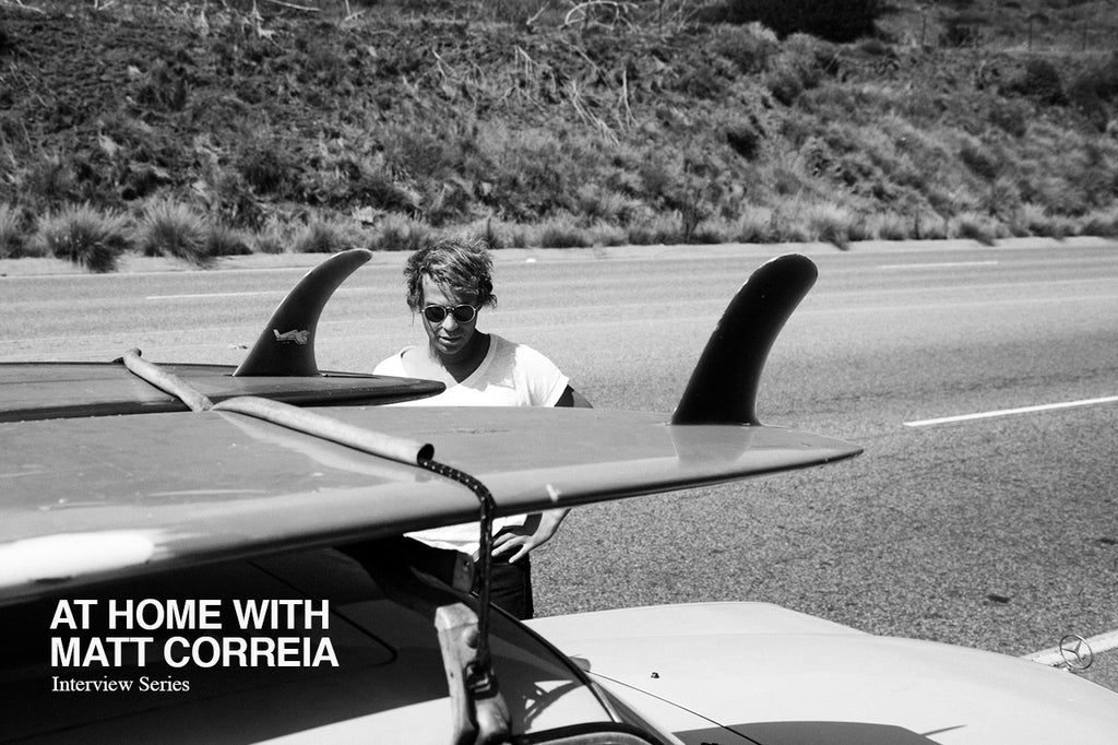 'At Home' with Matt Correia