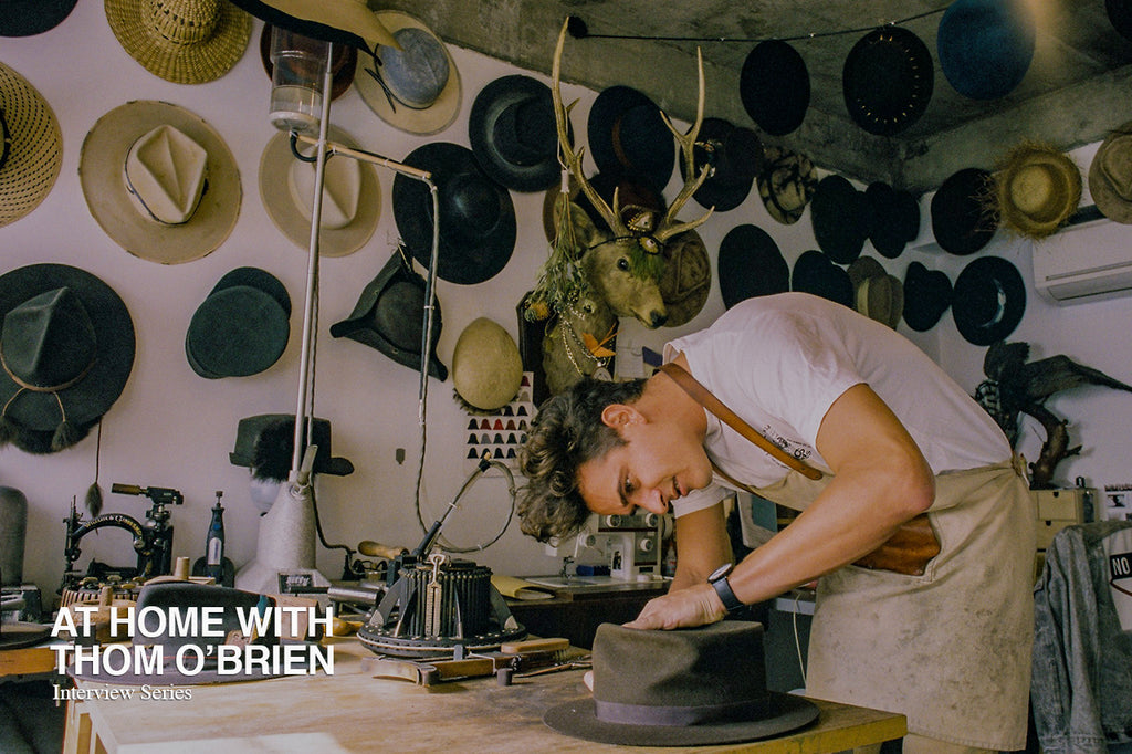 'At Home' with Thom O'Brien