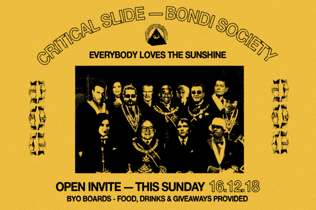 'Bondi Society' ~ A DAY IN THE SUN