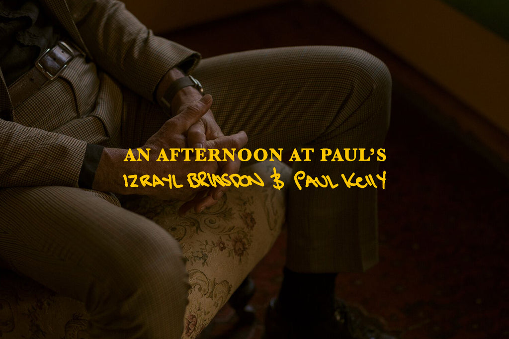 'An afternoon at Paul's' ~ Izzy Brinsdon