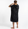 SLOWTIDE THE DIGS PONCHO  BLACK