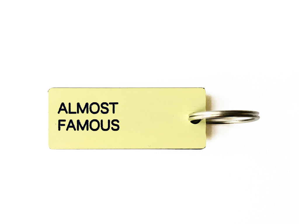 KEY TAG ALMOST FAMOUS