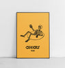 CHEERS PRINT - UNFRAMED