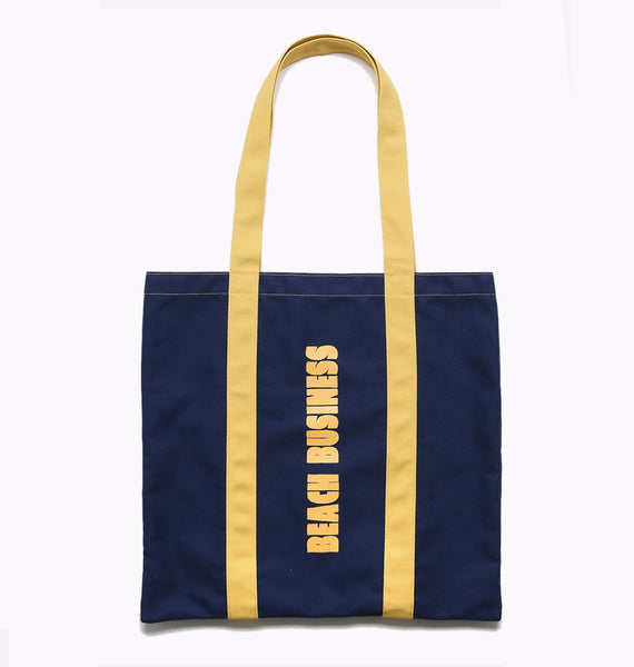 BEACH BUSINESS BAG -  NAVY