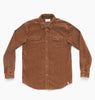 LAZY BONES LS SHIRT - CHESTNUT