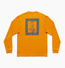 BRAVE NEW WORLD L.S TEE - POPSICLE ORANGE
