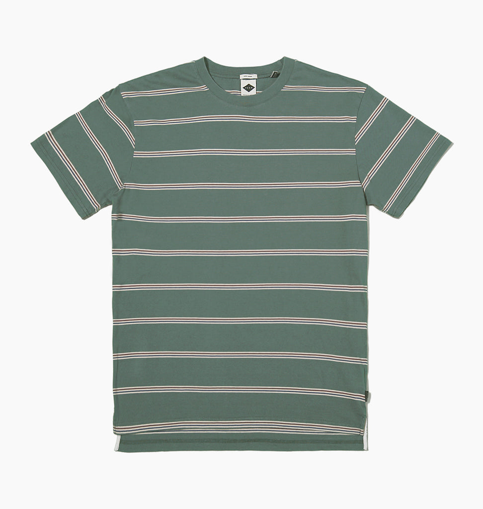 ELMORE TEE - GREEN BLACK
