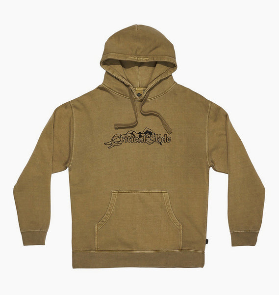 LEI BACK HOODY - FATIGUE