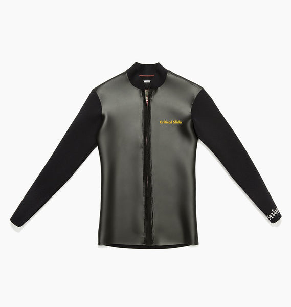 JUMBLED WETSUIT JACKET FRONT ZIP - PHANTOM