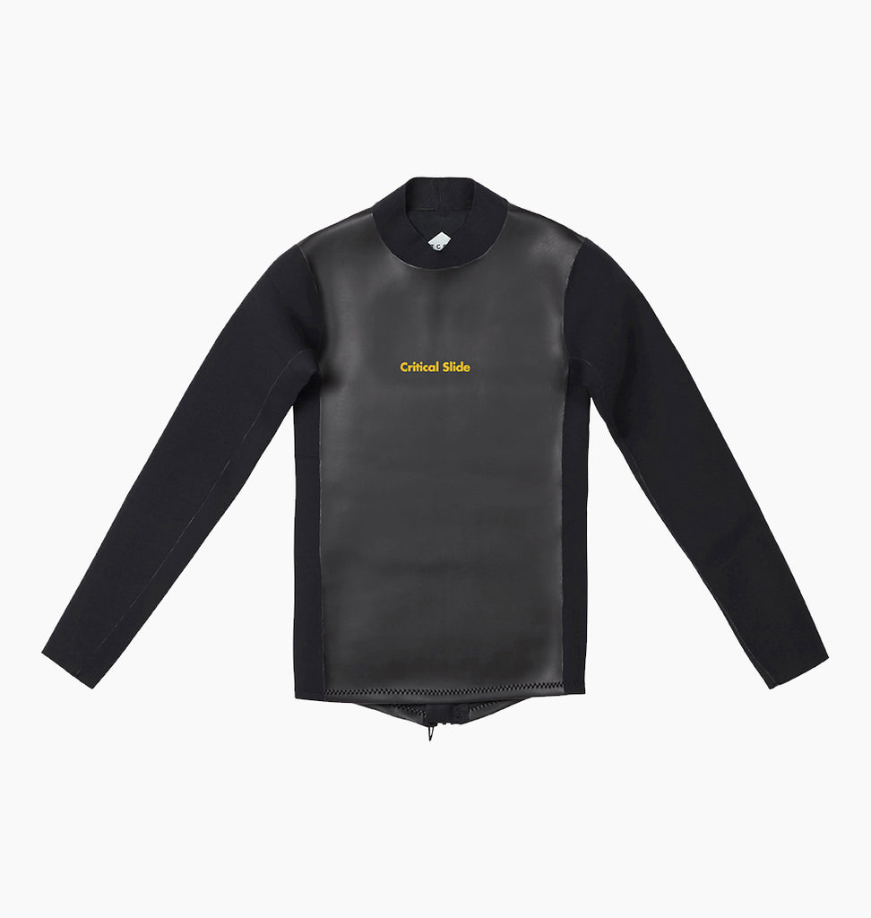 JUMBLED WETSUIT JACKET BACK ZIP - PHANTOM