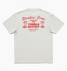 SNAKEPIT TEE - DIRTY WHITE
