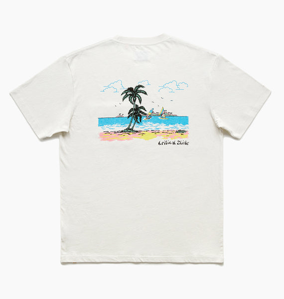 TRADEWINDS TEE - DIRTY WHITE