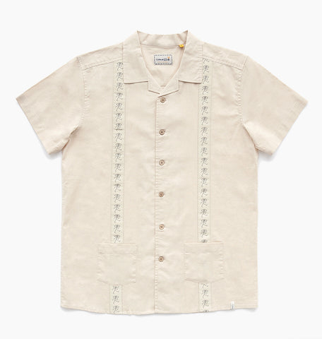 GONDRY SS SHIRT - BISCUIT