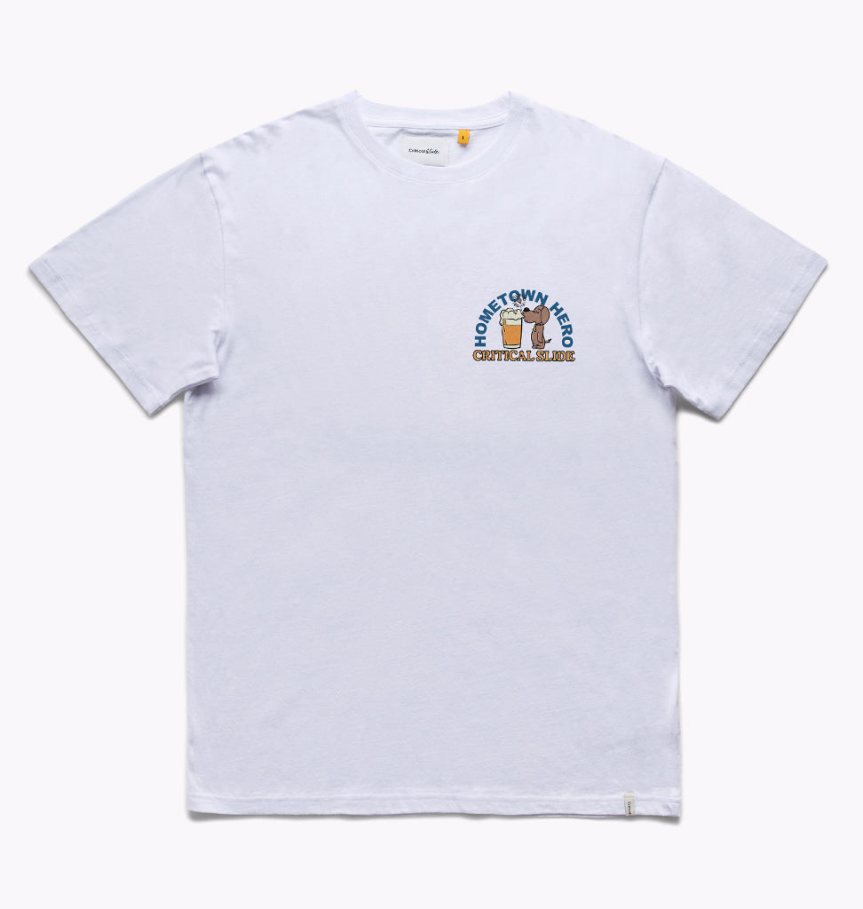 HOMETOWN TEE -  WHITE
