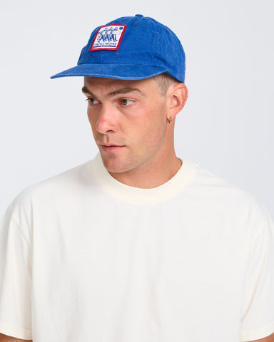 BEACH BIZ CAP-BLUE