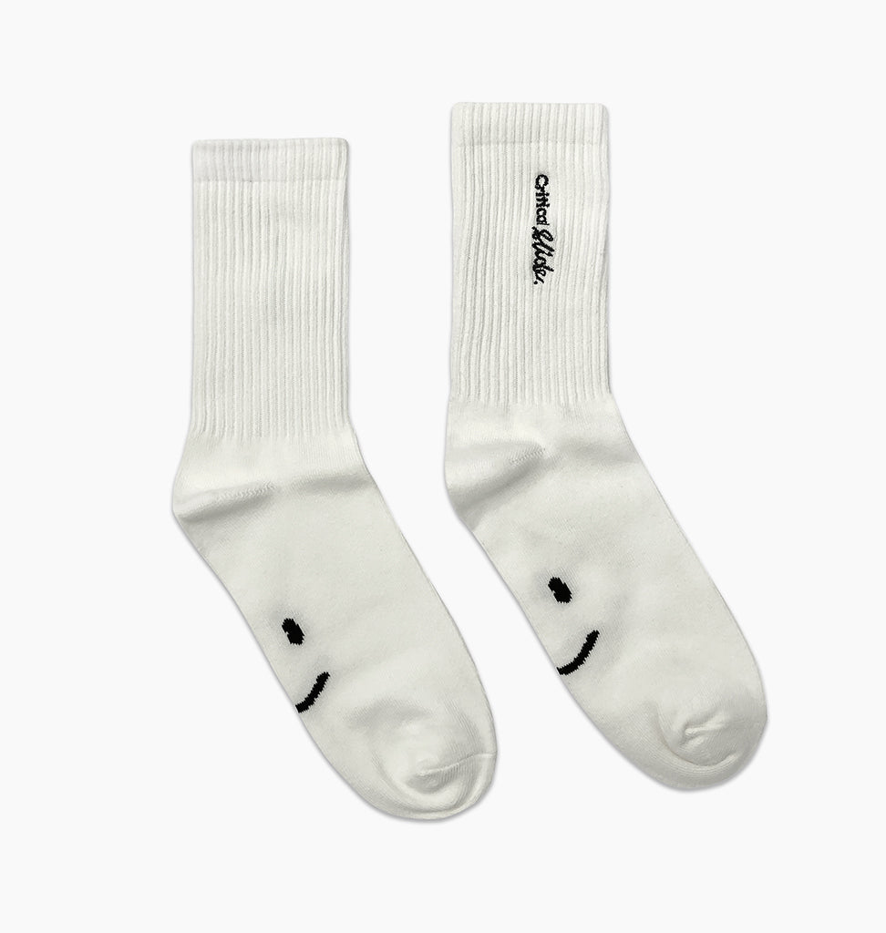 INSTITUTE SOCK - WHITE