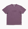 INSTITUTE TEE - BLACK PLUM