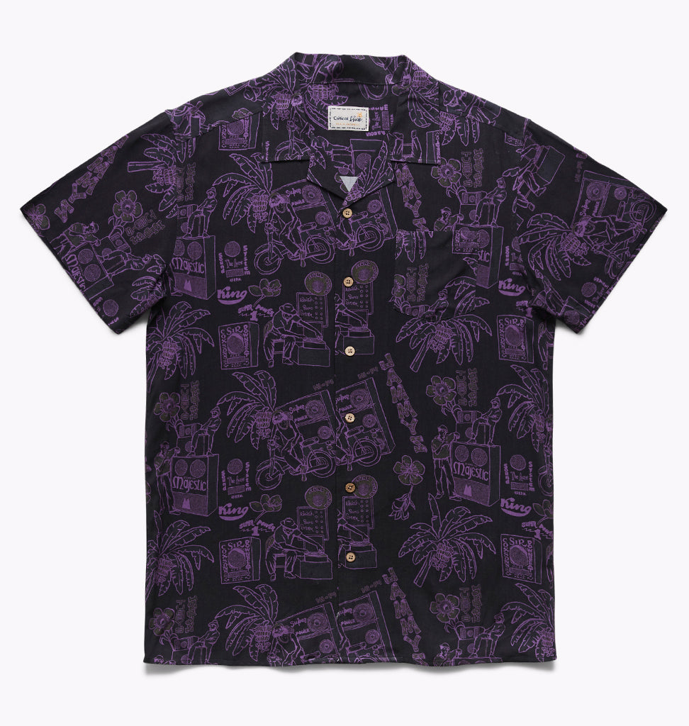 JAMMY'S SHORT SLEEVE SHIRT - BLACK