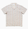 LEISURELAND SS SHIRT -BLANC