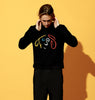 LENNON KNIT CREW - BLACK