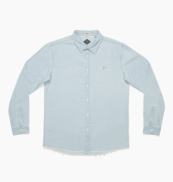 PATRIOT LONGSLEEVE SHIRT - DENIM